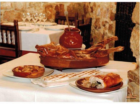 Menu tipico segoviano picture of meson mayor segovia for Menu cinese tipico