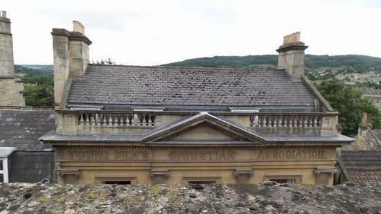 Travelodge Bath Central: vista da janela