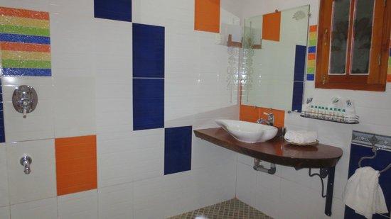 Vishram Village: comme on peut l voir, la salle de bains