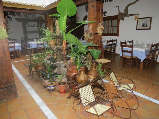 El Tabanco Hotel: Patio comedor