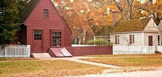 Colonial Houses-Colonial Williamsburg: Colonial Houses - Williamsburg