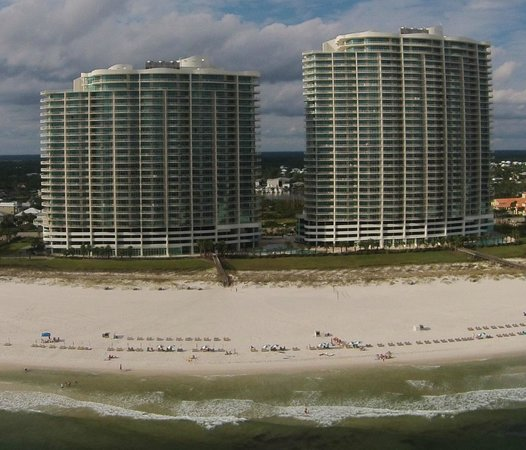 Turquoise Place: View from over the gulf