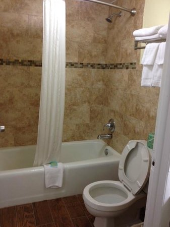 Fairway Inn Florida City : Nice bathroom