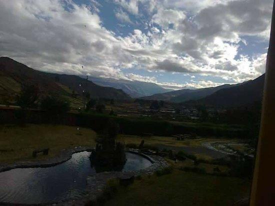 Inkari Eco Lodge: linda vista de los volcanes