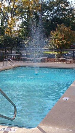 Hampton Inn Spring Lake-Ft. Bragg: Water fountain