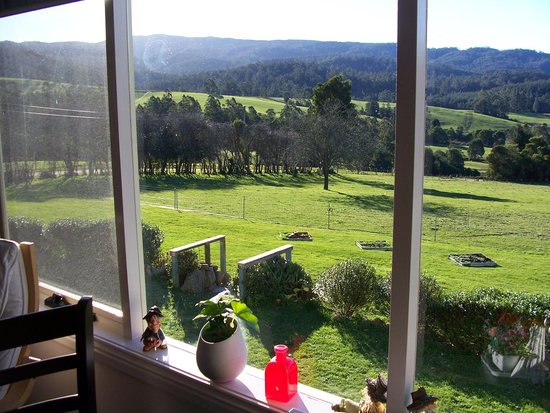 Goulds Country, Austrália: Breakfast with a view
