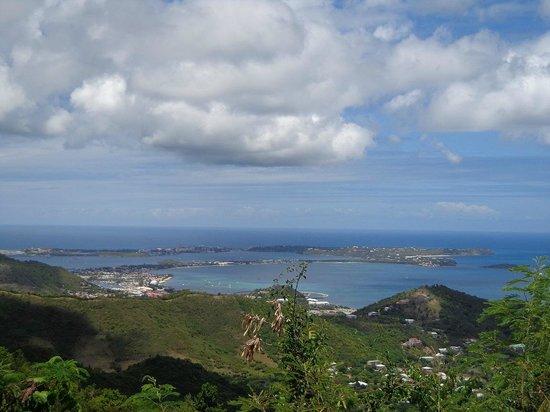 Paradise Peak: Vista antes de chegar ao pico