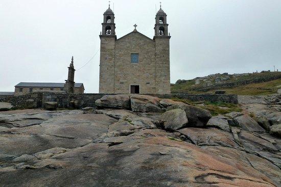 Muxia, Espagne : La chapelle du Santuario da Virxe da Barca