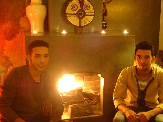 Riad Dar Zaman : Autumnal night at Dar Zaman