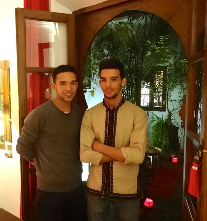 Riad Dar Zaman: Your hosts, Hassan and Yassine