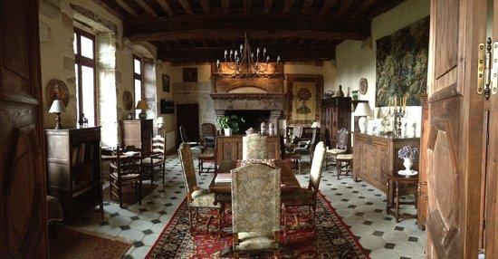 La grande pièce à vivre - Photo de Manoir de Kerdanet, Poullan-sur ...