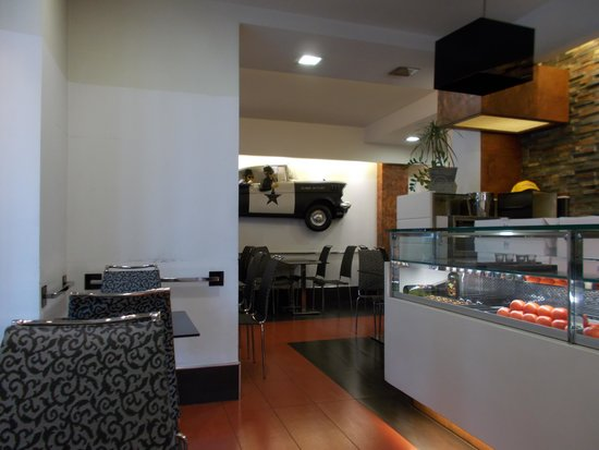 Caffe Gambrinus: l'ambiente interno
