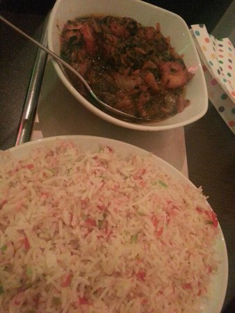 Welsh Spice: Saag Paner and a Pilau Rice