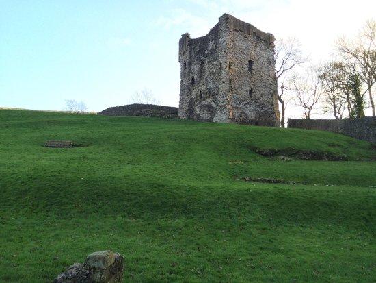 Peveril Castle: The castle!