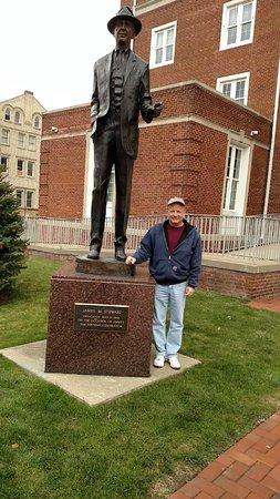 James M. Stewart Museum: Jimmy Stewart Statue - November 2, 2014