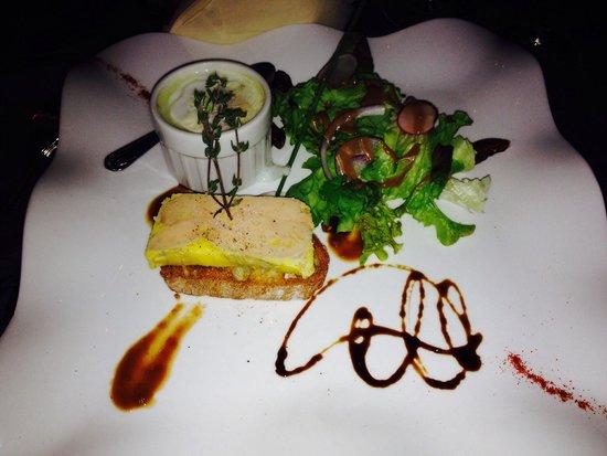 Le Lavalette: Foie gras au monbazillac