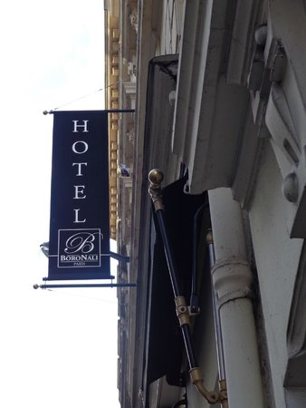 Hotel Boronali : Fachada lateral