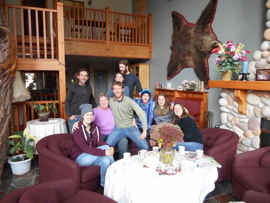 Glenogle Mountain Lodge & Spa: Good food + good company = good times