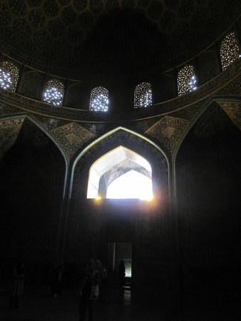 High Quality Sheikh Lotfollah Mosque: The Small Windows And Play Of Lights And Shadow