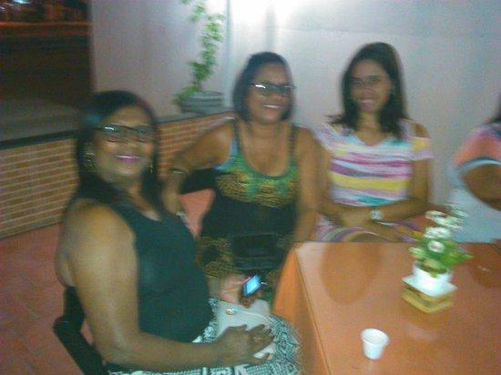 Velho Chico Plaza Hotel: À noite tomando vinho no hotel