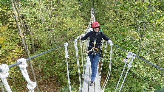 Lake Geneva Canopy Tours The Bridge