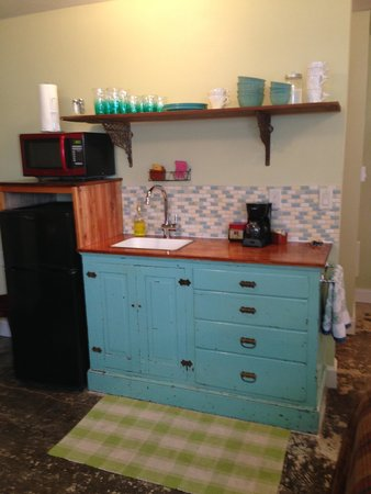 Willamina, OR: Kitchen in hostel