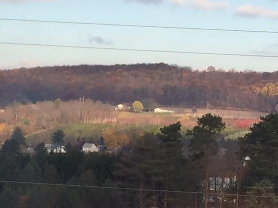Hampton Inn Lehighton (Jim Thorpe Area): beautiful view from our room