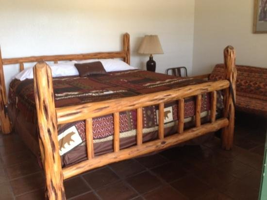 Rancho Cortez: huge comfy bed!