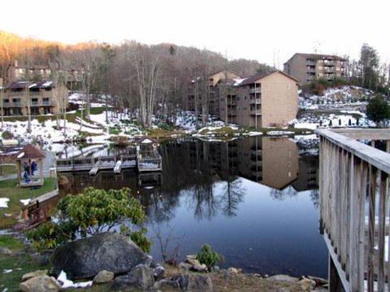 Blue Ridge Village: Melting Snow