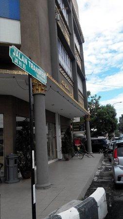Yes Hotel: Sudut hotel jl.transfer road