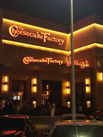 From Outside Picture Of The Cheesecake Factory Jeddah