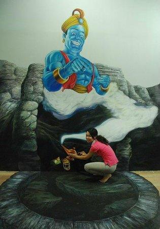 Genie Picture of Penang 3D Trick Art Museum George Town TripAdvisor