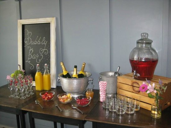 Restoration at Old Trail: Bubbly Bar for shower