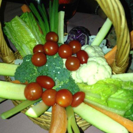 Pamplemousse French Restaurant : Veggie basket