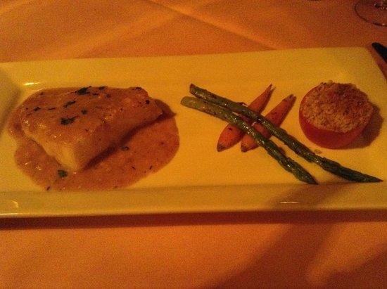 Pamplemousse French Restaurant : Sea Bass