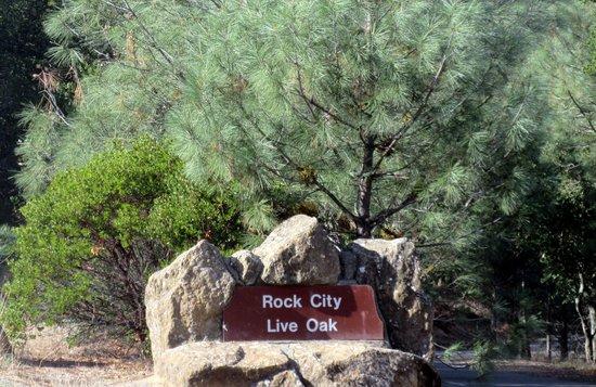 Rock City, Live Oak Picnic Ground, Mount Diablo State Park