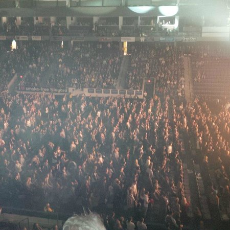 Over 5000 seats with the floor seats Picture of Meridian Centre