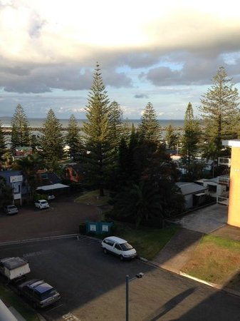 Macquarie Waters Hotel & Apartments: Room with a View
