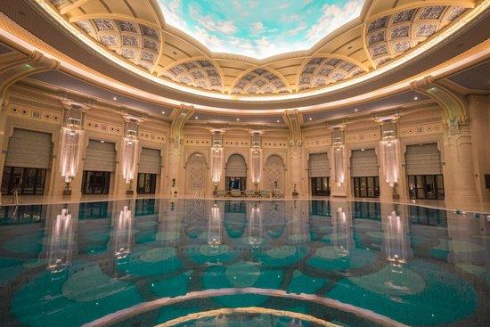 The Ritz-Carlton, Riyadh: the pool is quite grand I must say