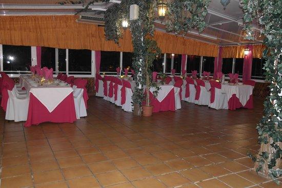 Al-Andalus Hotel: Vista del comedor