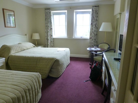 Killarney Lodge : Our room on the 1st floor