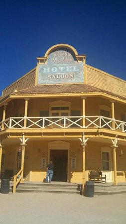 Old Tucson The Grand Palace Saloon And Hotel