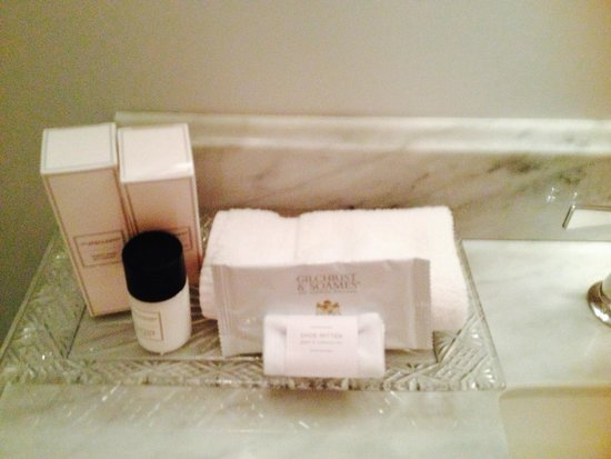 The Culver Hotel: lovely toiletries