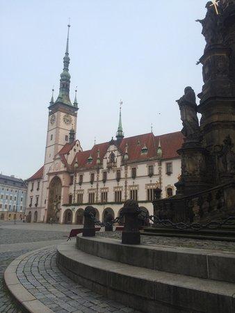Olomouc Town Hall: Town hall with holy trinity column
