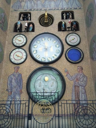 Astronomical Clock: The clock with little figures