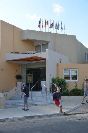 Nefeli Hotel : Eingangsbereich