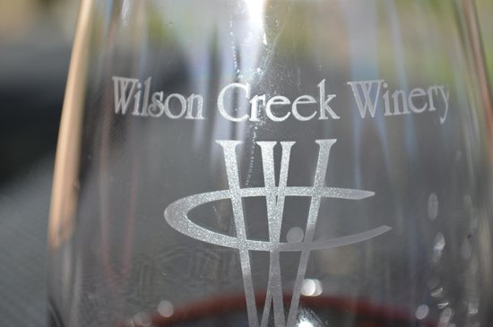 "Wilson Creek Winery: Copa de la ""casa""."
