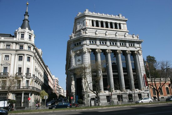 Edificio del bellas artes picture of madrid community for Edificio de correos madrid