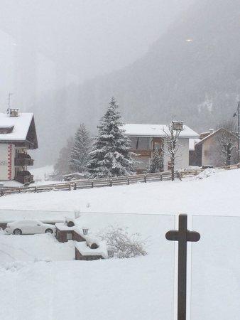 Hotel Andreas: Вид из окна