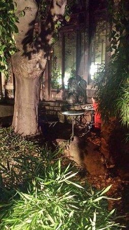 Un Cafe Dans Un Jardin Japonais Photo De La Pagode Paris